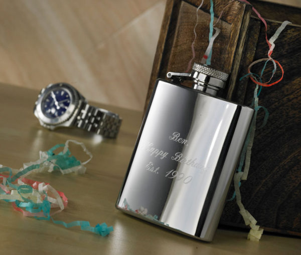 3oz Personalised Hip Flask with Free Engraving 1