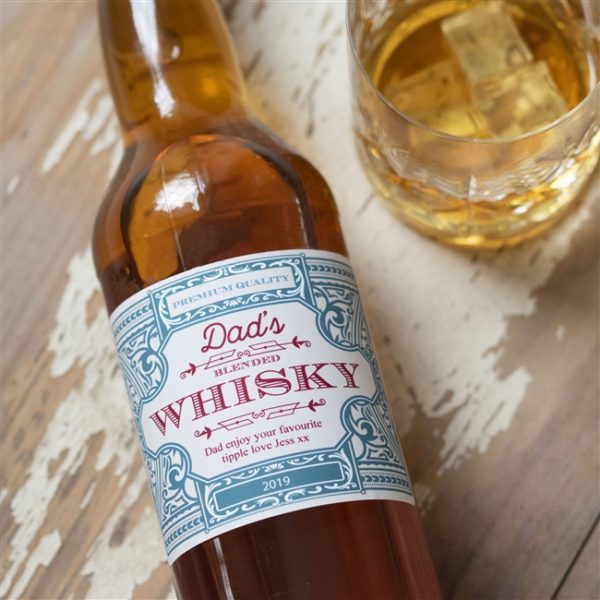 Personalised Vintage Style Whisky with Free & Next Day UK Delivery on FlaskStore.com Personalised Hip Flasks