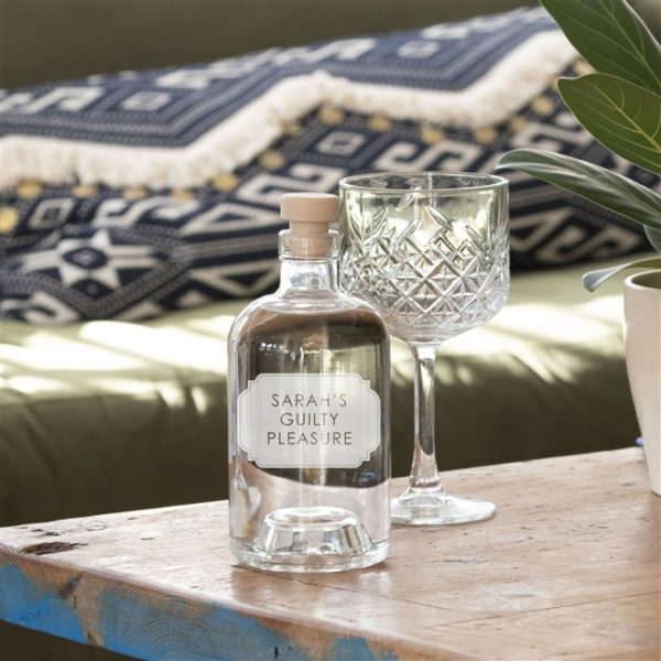 Personalised Bottle of Gin with Free & Next day UK Delivery on FlaskStore.com